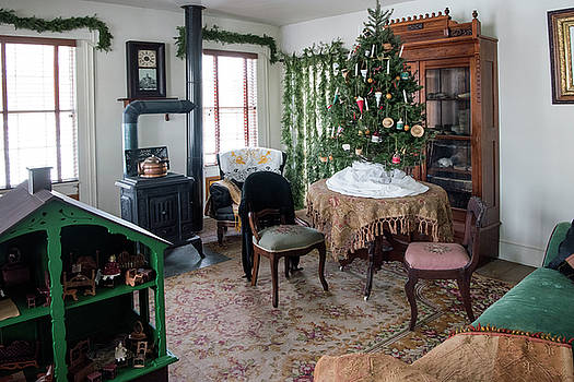 Old World Wisconsin Christmas Charm by Jayne Gohr