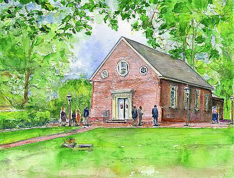 Old Wye Church Wye Mills by John D Benson