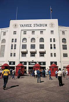 Old Yankee Stadium Last Game by Paul Plaine
