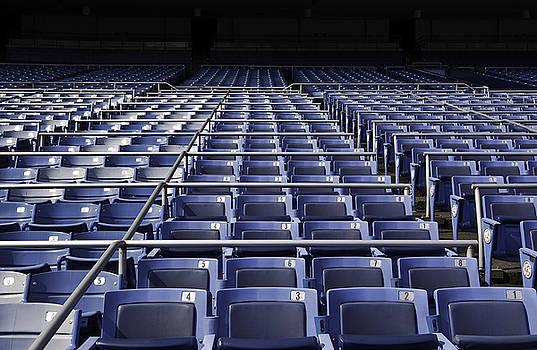 Old Yankee Stadium Seating by Paul Plaine