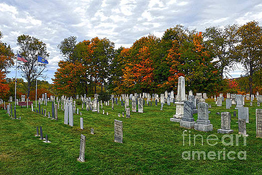 Old Yard Cemetery Stowe Vermont by Catherine Sherman