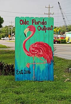 Olde Florida Outpost by Michiale Schneider
