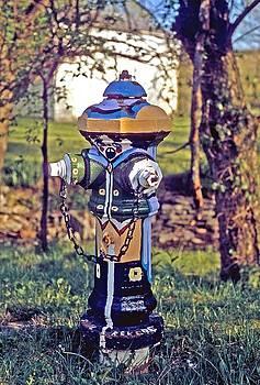 Gary Wonning - Oldenburg fireplug