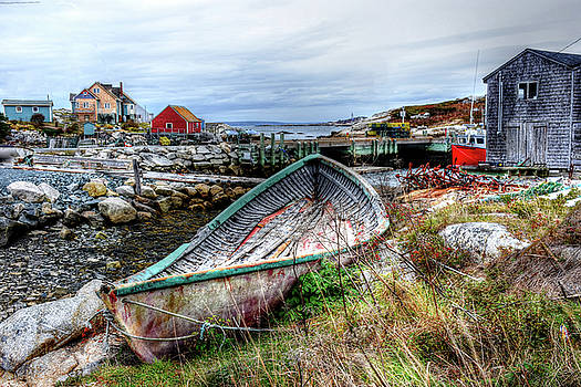 Oldest Boat in Town  by Tim Ford