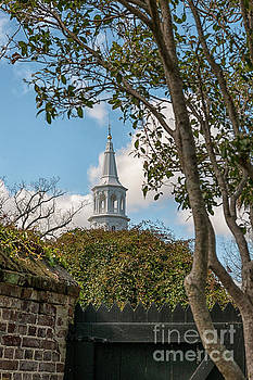 Oldest Church in Charleston by Dale Powell