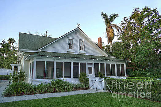 Oldest House in Naples, Florida by Catherine Sherman
