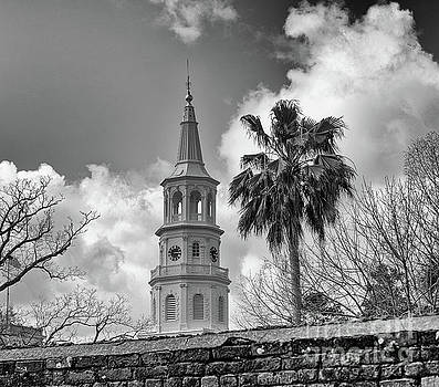 Oldest Surviving Religious Structure in Charleston by Dale Powell