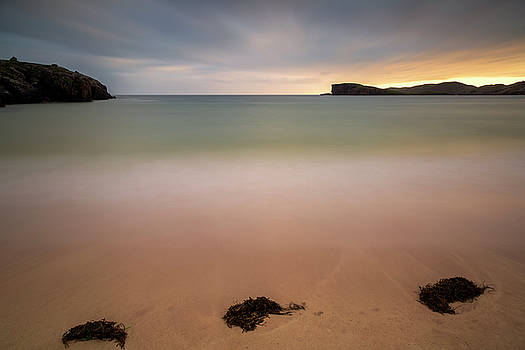 Oldshoremore Bay at Sunset by Derek Beattie