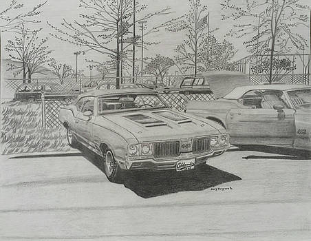 Oldsmobile 442 Convertibles by Henry Hargrove