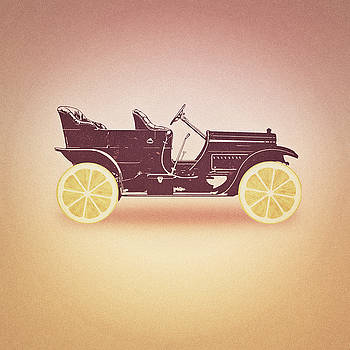 Oldtimer Historic Car with lemon wheels by Philipp Rietz