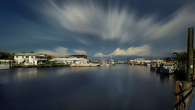 Ole Fishing town by Todd Rogers
