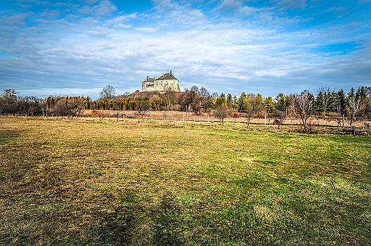 Olesko Castle in Ukraine by Tetyana Kokhanets