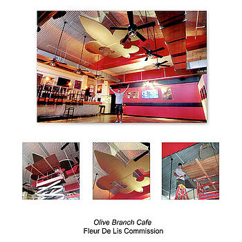 Olive Branch Cafe by Benjamin Bullins