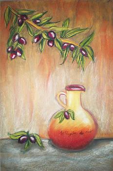 Olive ed Olio by Maria Mills
