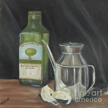Olive oil by Isabel Honkonen