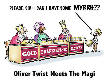 Oliver Wants Some Myrrh by Mark Armstrong