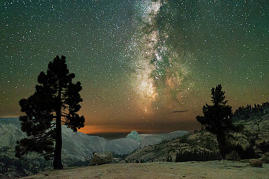 Olmsted Point Milky Way by Keith Marsh
