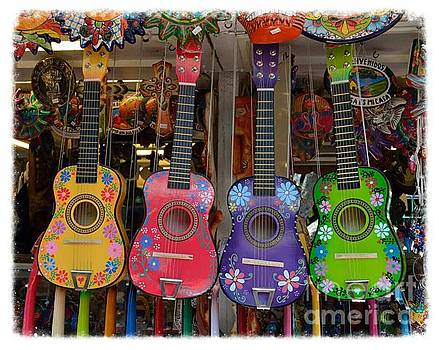 Olvera Street Guitars by Scott Parker