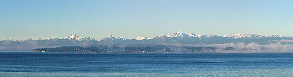 Mary Jo Allen - Olympic Mountains Across Puget Sound