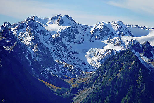Olympic Mountains by Rick Lawler