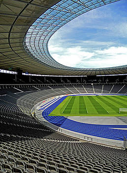 Olympic Stadium - Berlin by Juergen Weiss