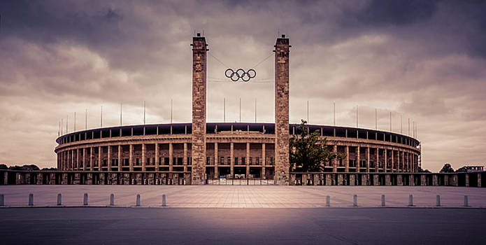 Olympic stadium Berlin by Stavros Argyropoulos