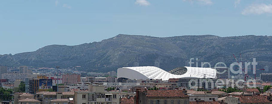 Stade Velodrome in Marseille panorama by John Janicki