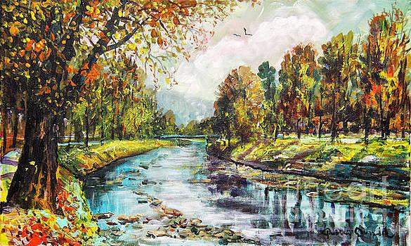 Olza River by Dariusz Orszulik