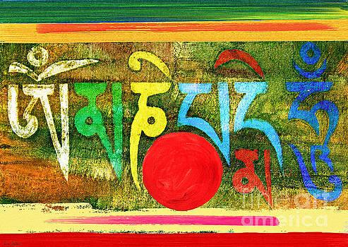 Om Mani Padme Hum by Lita Kelley