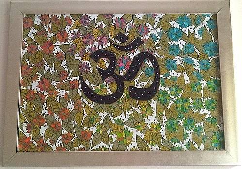 Om Symbol of Absolute by Rasna Walia
