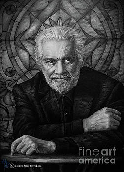 Omar Sharif by Yonan Fayez