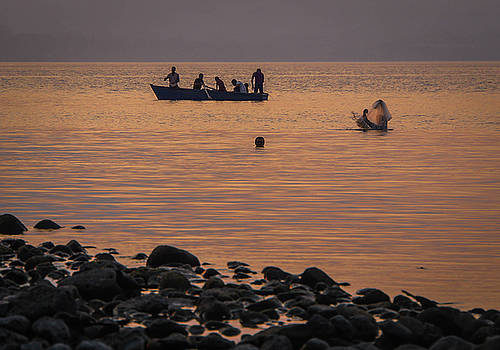 Ometepe Fishermen by Paki O'Meara