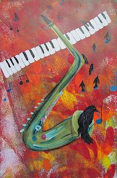 On a Blue Note by Susan Snow Voidets