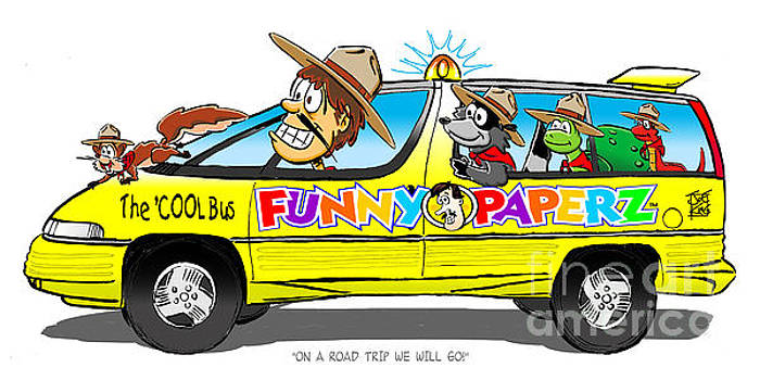On A Road Trip We Will Go by Joe King
