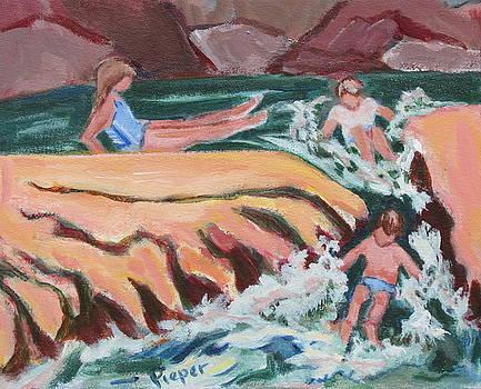 Betty Pieper - On a Run at Slide Rock Park Arizona