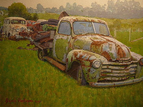 Terry Perham - On A Wet Day Watercolour