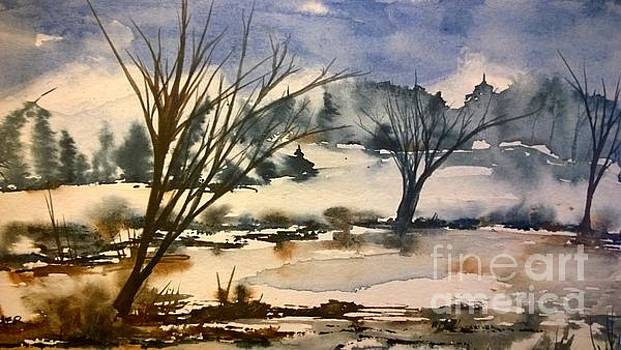 On a Winters Day by Eunice Miller