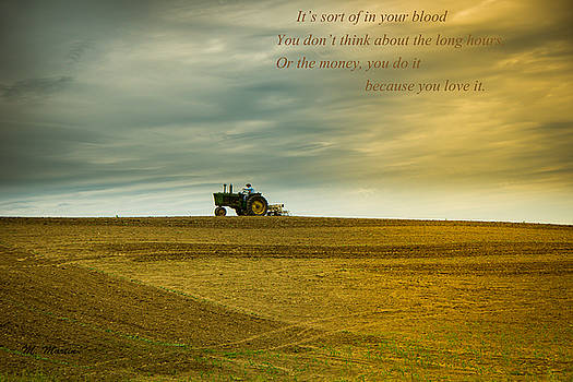 On Being a Farmer by Melinda Martin
