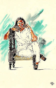 On Cultural Chair by Mohd Raza-ul Karim