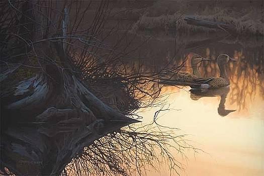 On Golden Pond by Derek Wicks