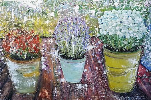 On Grandma's Porch by Evelina Popilian