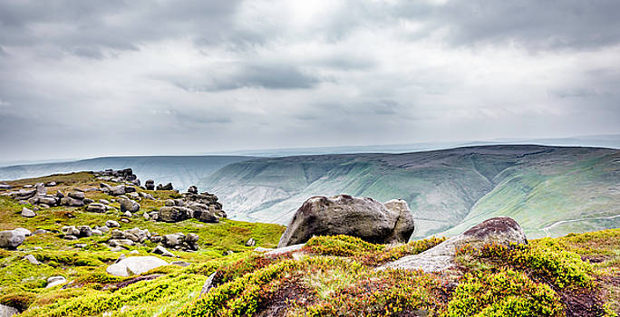 On Kinder Scout by Nick Bywater