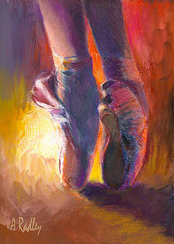 On Pointe at Sunrise by Ann Radley