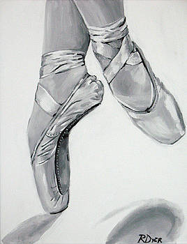 On Pointe by Rachelle Dyer
