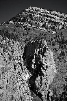 On Sandia Mountain by Ron Cline