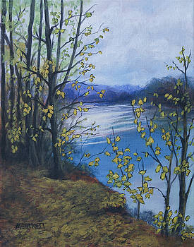 On The Riverbank by Michael Beckett