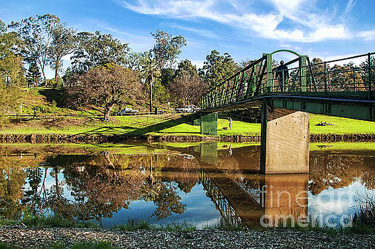 On the Banks of the River by Kaye Menner by Kaye Menner