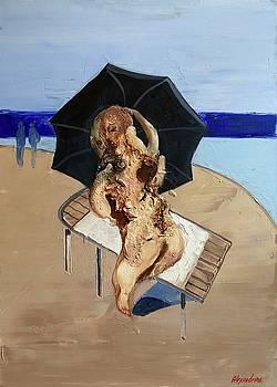 On the beach by Irina Alexandrina