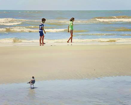 On the Beach by Laura Greene