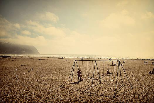 On the beach by Misty Alger